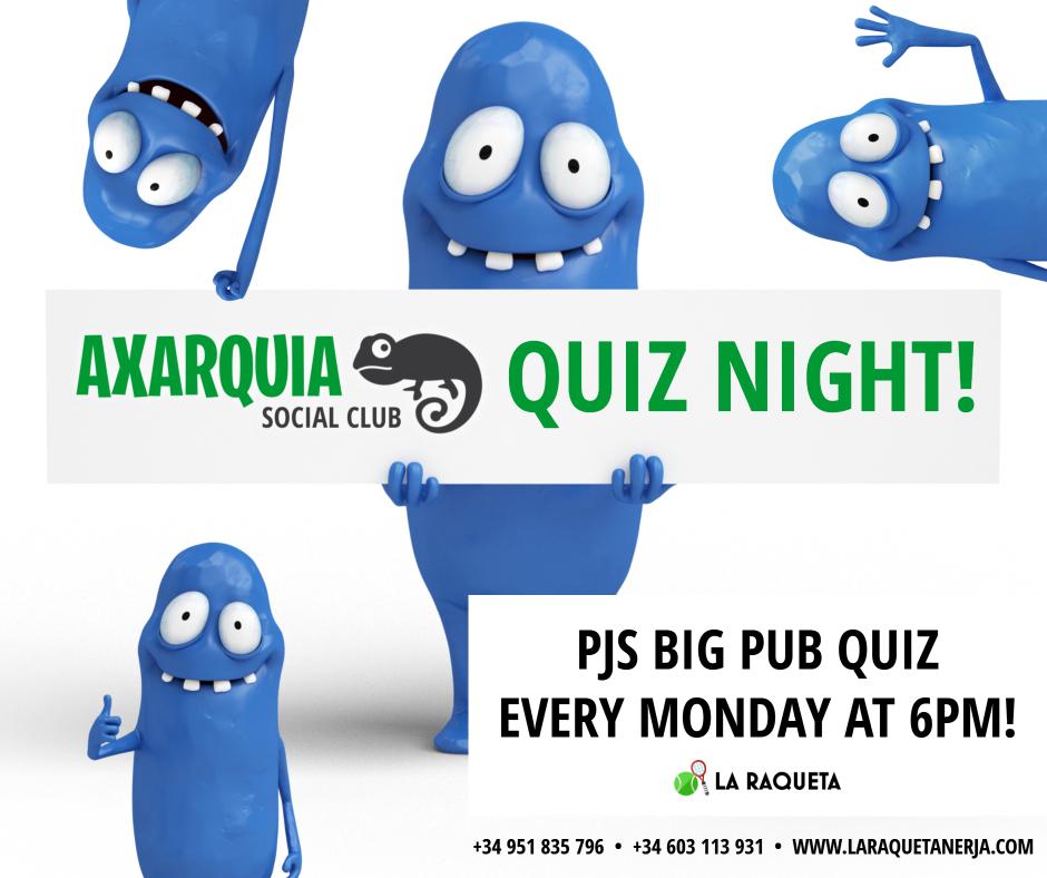 Axarquia Social Club Quiz Night