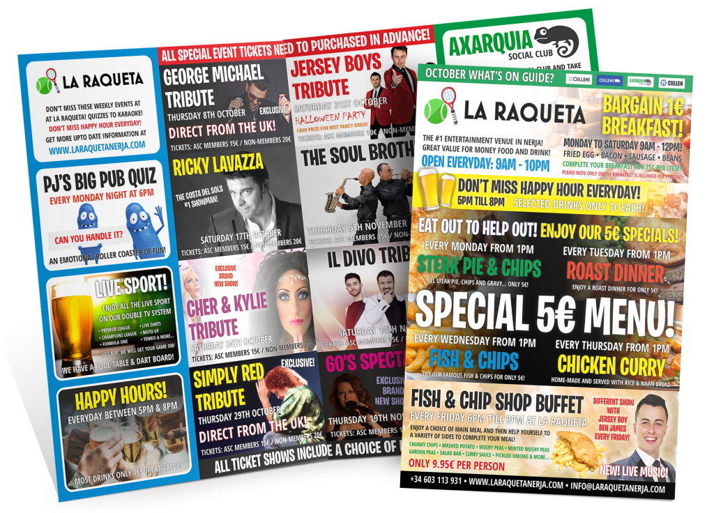 Axarquia Social Club Event Guide 2020