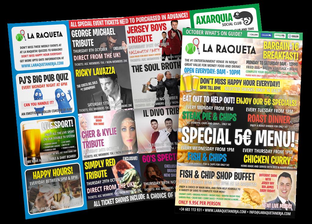 Axarquia Social Club Event Guide 2020